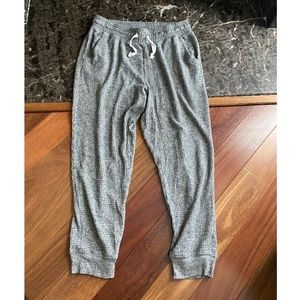 Aerie Waffle Joggers/Sweats/Pajamas Sz Large